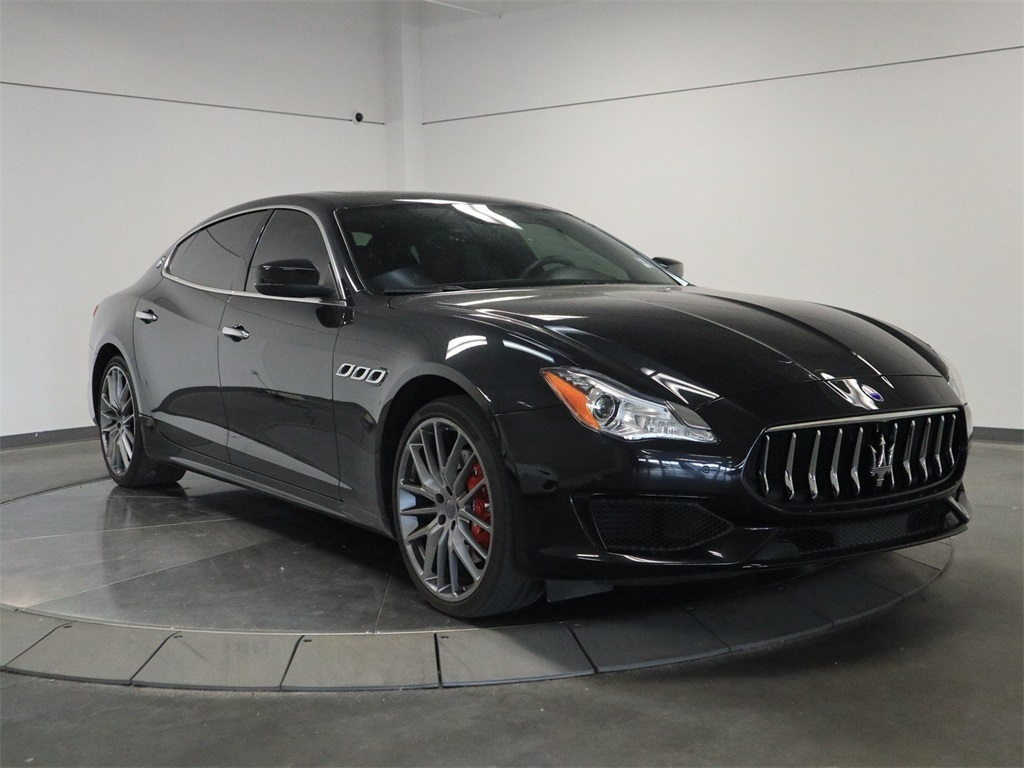 Pre-Owned 2017 Maserati Quattroporte S Q4 GranSport