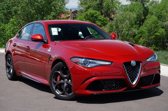new 2017 alfa romeo giulia quadrifoglio sedan in highlands ranch a547696 mike ward alfa romeo. Black Bedroom Furniture Sets. Home Design Ideas