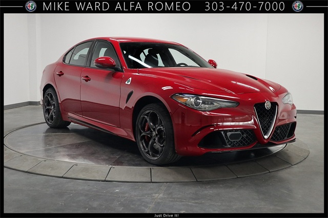 New 2019 Alfa Romeo Giulia Quadrifoglio Sedan In Highlands Ranch
